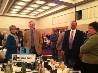 Judges at King Breakfast