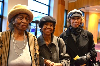 Ladies at the Skanner Foundation's MRTIN LUTHER KING JR. Breakfast 2012