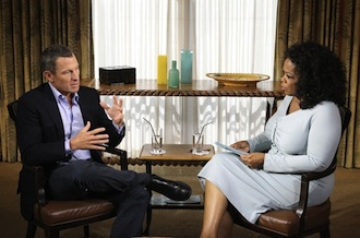 Lance speaks to Oprah