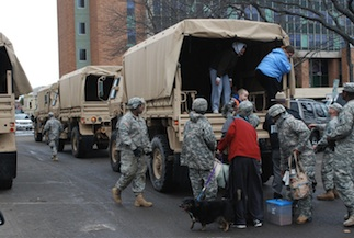 National Guard helping New Yorkers