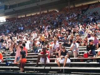 OSU Commencement crowd