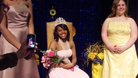 Janae Brown Rose Princess 2012 for jefferson High school