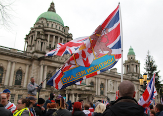 Union flag Belfast