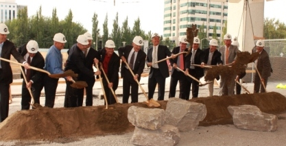 Lloyd Superblock groundbreaking