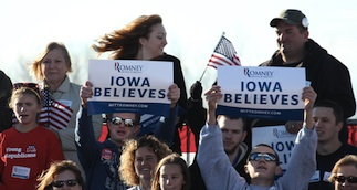 Iowa Believes Romney