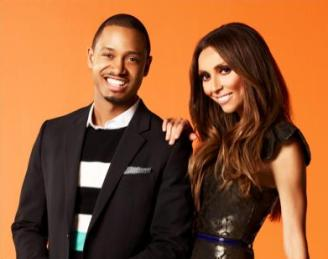 Terrence Jenkins and Giuliana Rancic