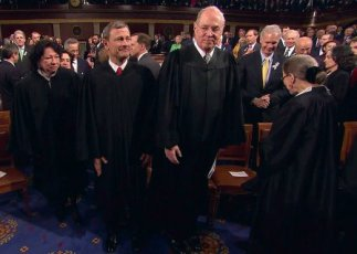 Supreme Court Justices at State of union