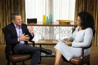 Oprah and Lance Armstrong