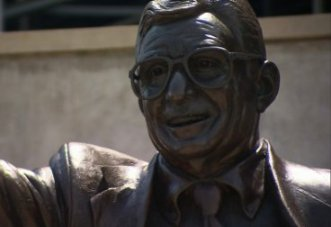 statue of Joe paterno