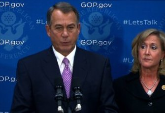 House Speaker John Boehner government shutdown