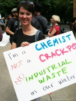 Kelsey a chemistry teacher opposes fluoridation