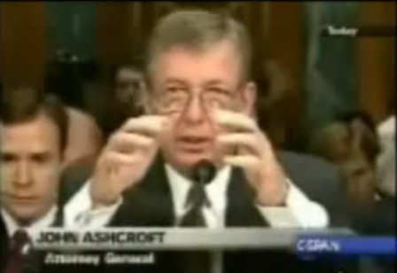 Ashcroft questioned by Kennedy on torture
