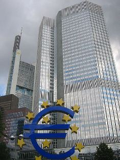 european central bank stocks wall street