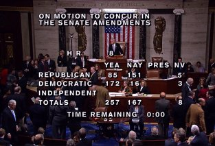 House vote on fiscal cliff
