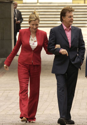 heather mills  and paul mccartney phone hacking