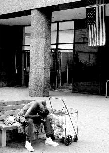 black poverty homeless