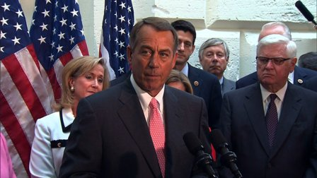 John Boehner government shutdown