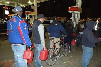 New York gas line