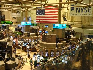 new york stock exchange dow jones drop