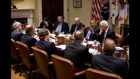 Obama meeting on jobs