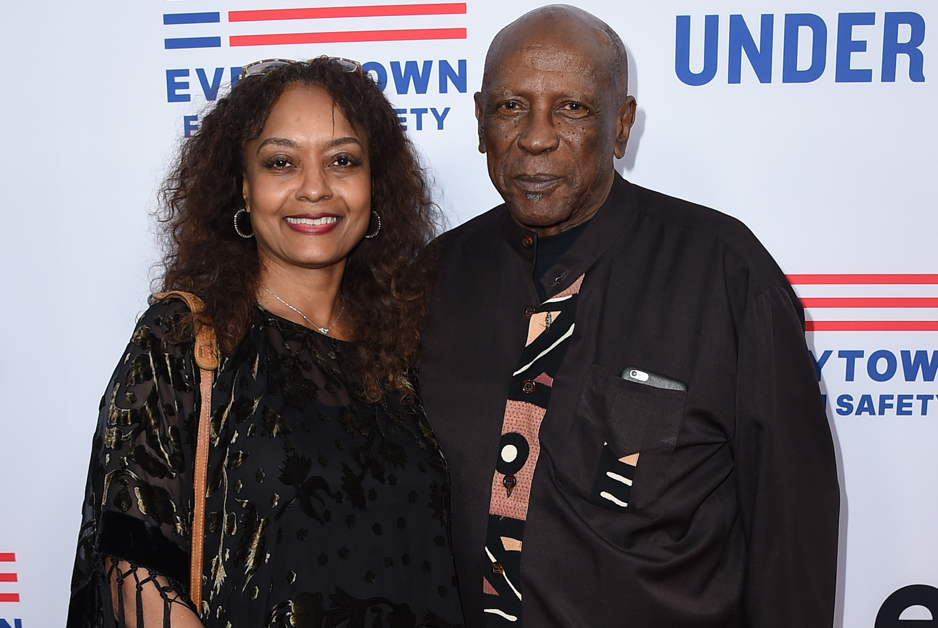 "Shirley Neal and Louis Gossett Jr. attend the LA premiere of ""Under The Gun"" at Samuel Goldwyn Theater on Tuesday, May 3, 2016 in Beverly Hills.(Photo by Jordan Strauss/Invision/AP)"