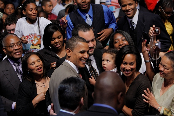 Obama at 2008 NAACP convention