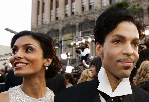 Prince and his wife Manuela Testolini