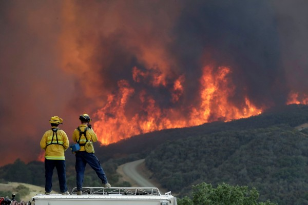 california wildfires accessing