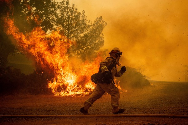 california wildfires fire fighter swift