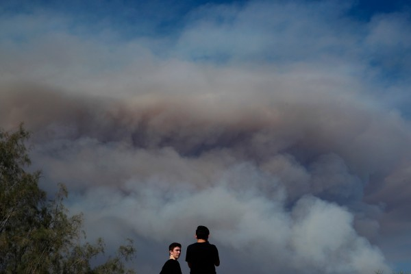 california wildfires lookers