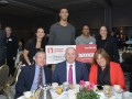 The Skanner Foundation Scholarship recipient, Cameron Retherford (back row, center) with Oregon Lottery sponsors (Mike Norris)