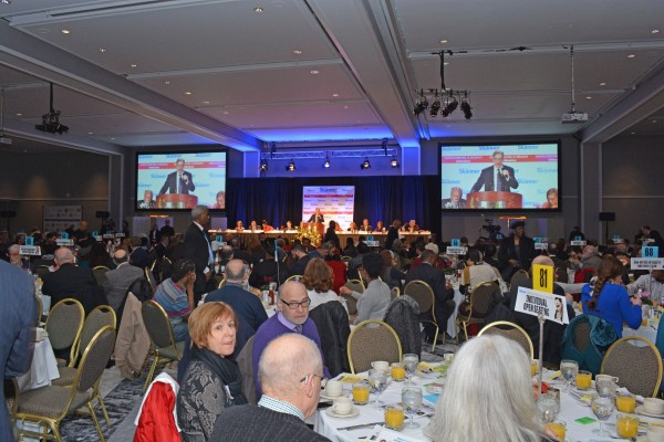 Guests of The Skanner's 31st MLK Breakfast, Portland, Jan. 16, 2017 (Mike Norris)