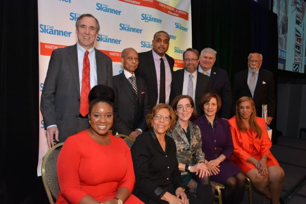 Distinguished guests of The Skanner's 31st MLK Breakfast, Portland, Jan. 16, 2017 (Mike Norris)