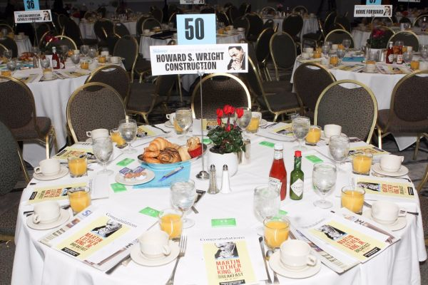 The Skanner's 31st MLK Breakfast, Portland, Jan. 16, 2017 (Antonio Harris)