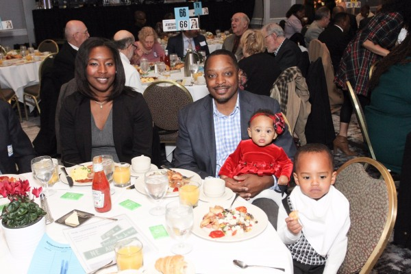 Guests of The Skanner's 31st MLK Breakfast, Portland, Jan. 16, 2017 (Antonio Harris)