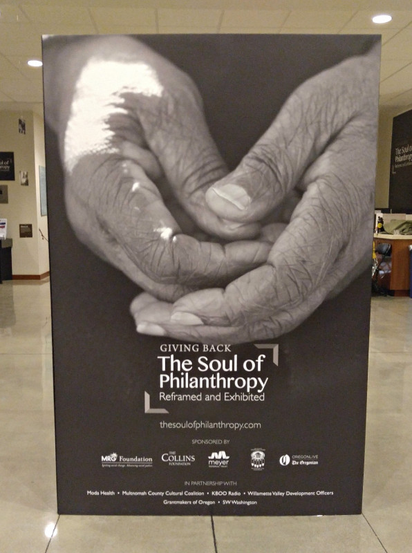 Giving Back: The Soul of Philanthropy, Reframed and Exhibited