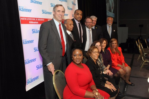 Distinguished guests of The Skanner's 31st MLK Breakfast, Portland, Jan. 16, 2017 (Antonio Harris)