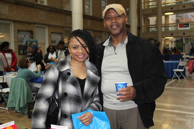 Veteran Ron Jackson and his daughter Rachel both hope to buy a home in 2014