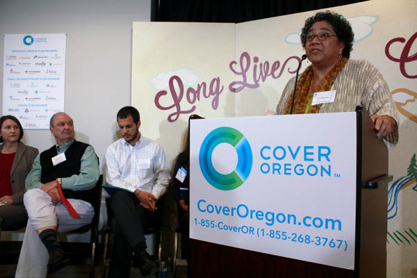 Cover Oregon press conference