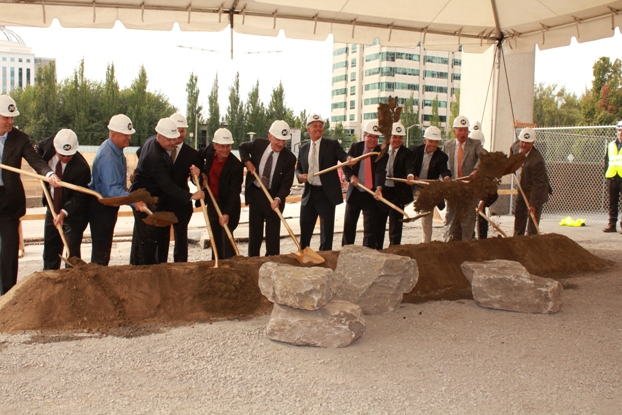 Groundbreaking for the Lloyd Center superblocks project