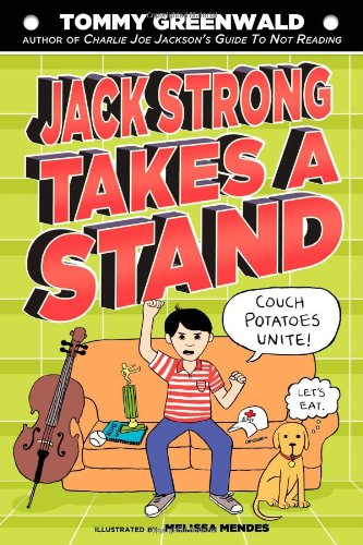 Book Cover; Jack Strong takes a stand