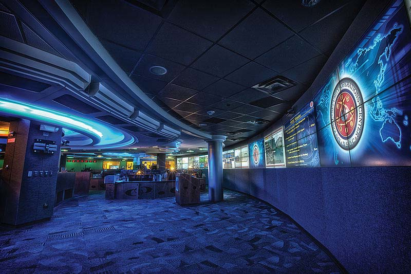 INside the NSA command center