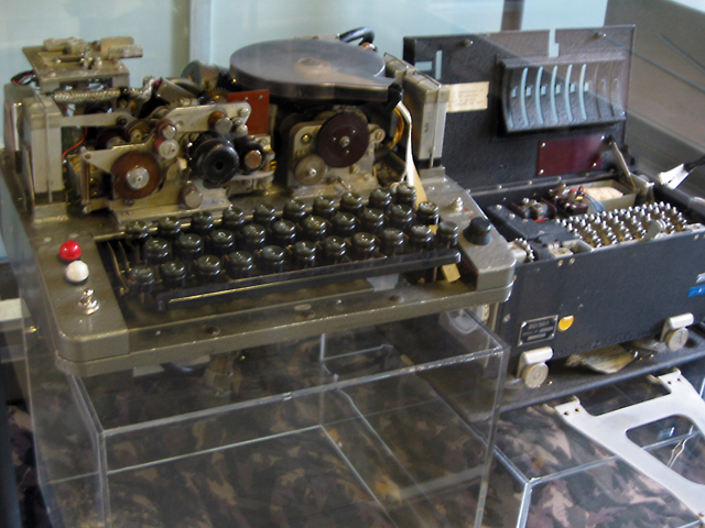 code-breaking machine Bletchley Park
