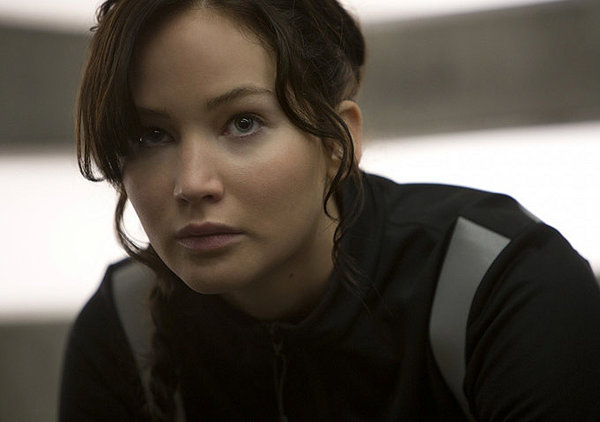 Jennifer Lawrence as Katniss in Hunger Games: Catching Fire