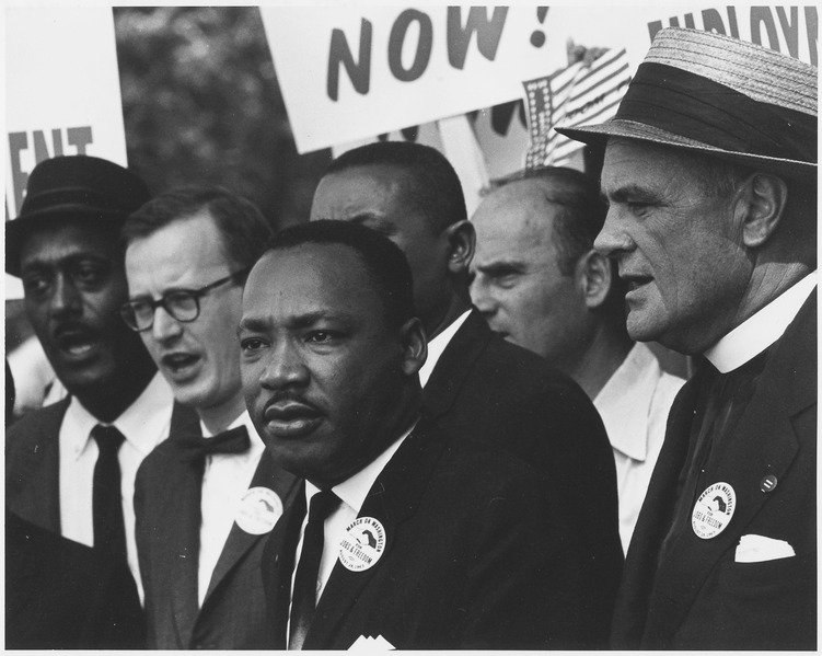 Martin Luther King Jr. at the March on Washington in 1963