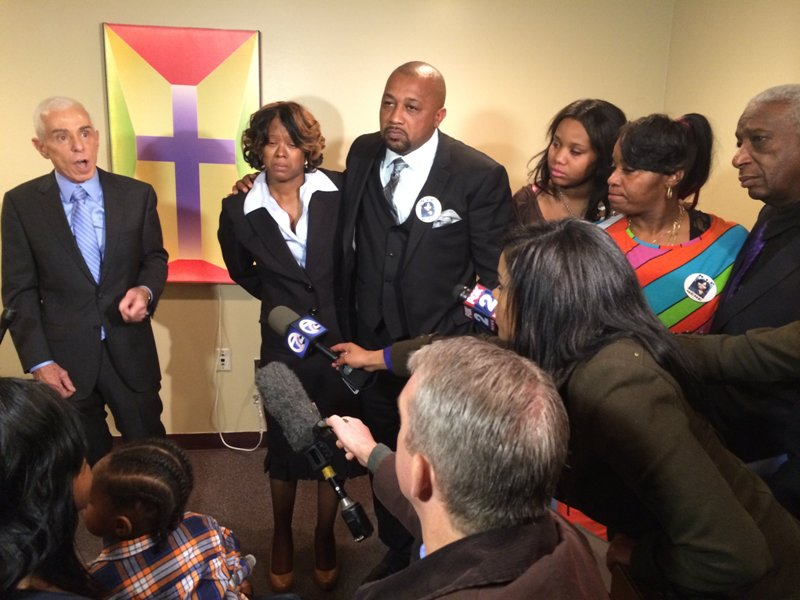 Renisha McBride's family press conference
