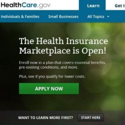 Healthcare.gov website says it's time to enroll