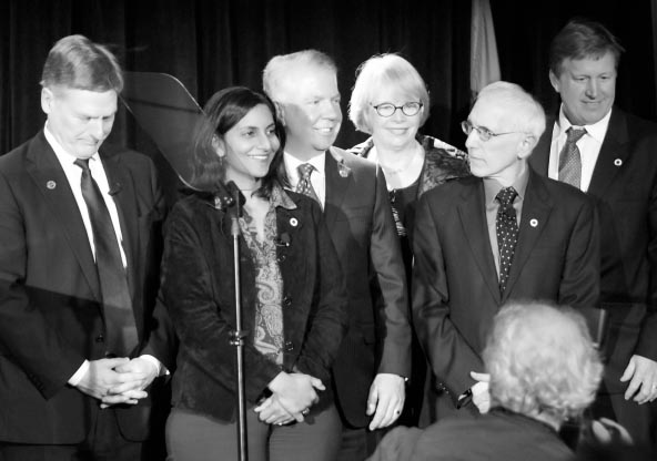 Kshama Sawant at swearing-in