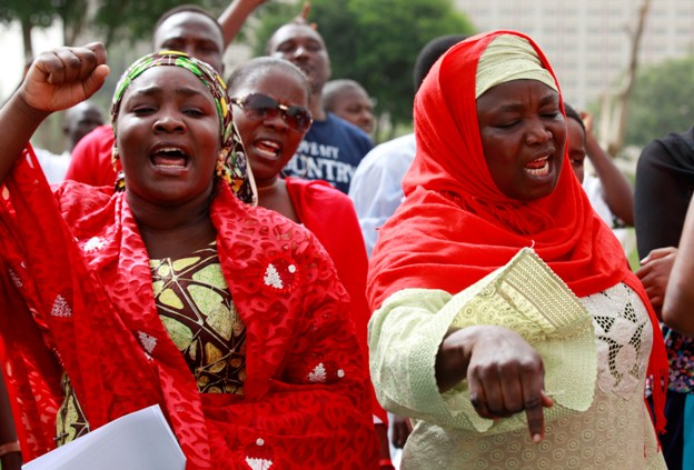 Abuja: women protest kidnapping