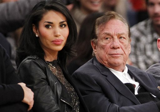 Donald Sterling and girlfriend